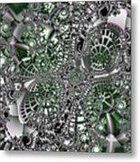 Mint Metal Metal Print