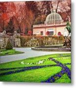 Mirabell Gardens Salzburg  Metal Print