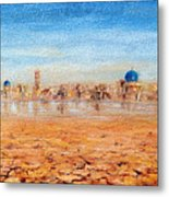 Mirage City Metal Print
