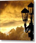 Mirage Night Sky Metal Print