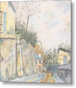 Mirage Of Utrillo Metal Print