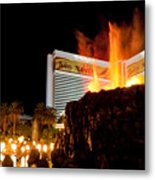 Mirage Volcano Metal Print by Andy Smy