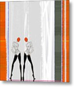 Mirror Reflections Metal Print