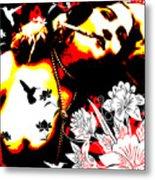 Mischievious Hummingbird Metal Print