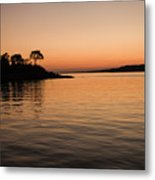 Misery Island Sunset Metal Print