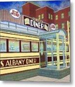 Miss Albany Diner Metal Print