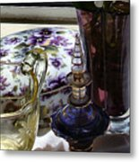 Miss Ella's Boarding House Still Life Metal Print
