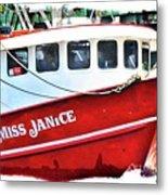 Miss Janice Metal Print
