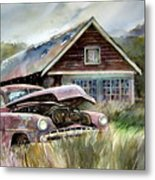 Miss Wilson's House Metal Print