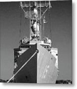 Missile Destroyer Metal Print