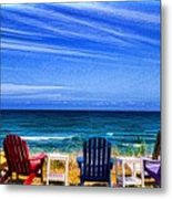 Pre-viewing   Seats Available Metal Print