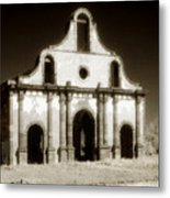 Mission Abandoned Metal Print