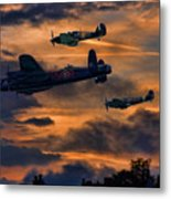 Mission Accomplished Homeward Bound Metal Print