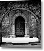 Mission Archway II Metal Print