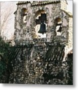 Mission Bells On Side Wall Metal Print
