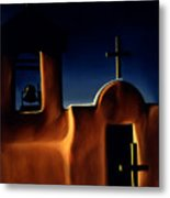 Mission Crosses Metal Print