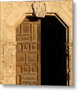 Mission Entry Metal Print