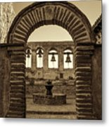 Mission Gate And Bells #2 Metal Print