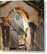 Mission Gate Metal Print