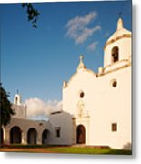 Mission Nuestra Senora Del Espiritu Santo De Zuniga At Sunset - Goliad Coastal Bend Texas Metal Print
