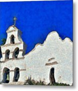 Mission San Diego De Alcala Metal Print by Christine Till