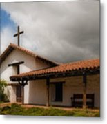Mission San Francisco De Solano Metal Print by Mick Burkey