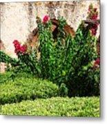 Mission San Jose' Flora Beauty Metal Print