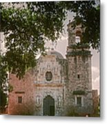 Mission San Jose In San Antonio Metal Print