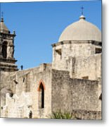 Mission San Jose Towers Metal Print
