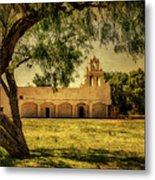 Mission San Juan Church Metal Print