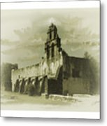 Mission San Juan Metal Print