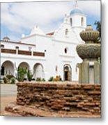 Mission San Luis Rey Metal Print