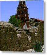 Mission San Miguel Bells 2 Metal Print