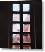 Mission Window Metal Print