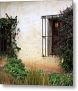 Mission Windows Metal Print
