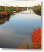 Mississippi River Metal Print