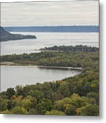 Mississippi River Lake Pepin 7 Metal Print