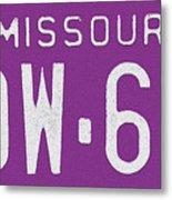 Missouri '78 Metal Print