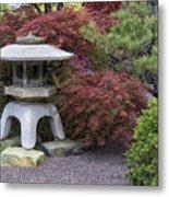 Missouri Botanical Garden A Japanese Snow Viewing Lantern Spring Time Dsc01783 Metal Print