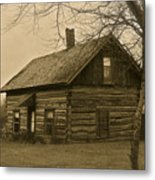 Missuakee County Log Cabin Metal Print