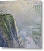 Mist At Horseshoe Falls  Metal Print