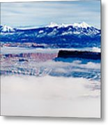 Mist Over Canyonlands I Metal Print