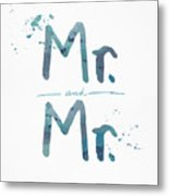 Mister And Mister  Metal Print