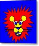 Mister Lion Metal Print