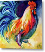 Mister Show  Rooster Art Metal Print