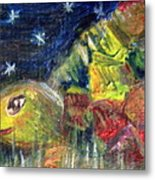 Mister Turtles Night Out Metal Print