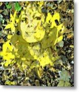 Mistress of Autumn Metal Print