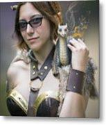 Mistress Of Dragons Metal Print