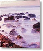 Misty Bay Metal Print