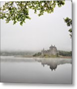 Misty Castle Metal Print
